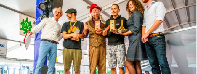 Eugene wint de Gouden Meerpaal in Nederland!